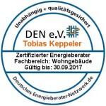 Logo Qualtitätssignet DEN e.V.